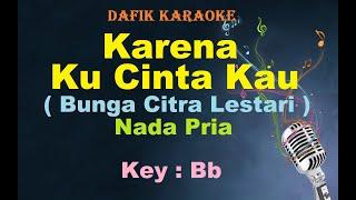 Karena KuCinta Kau (Karaoke) Bunga Citra Lestari /BCL Nada Pria /Cowok Male Key Bb