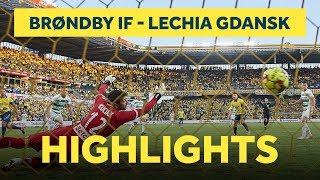 Highlights fra sejren over Lechia Gdansk | brondby.com