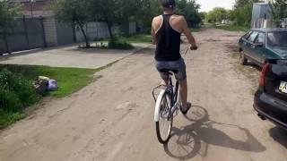 """Велосипед дорожный Orion Romet типа Украина, аист на 28"""" колесах - обзор, тест, женский"""