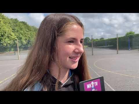 Lily   WHS tennis star   HD