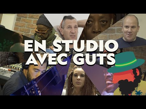 Youtube: En studio avec GUTS – 'Philantropiques' 🌴 EPK (Making of album)