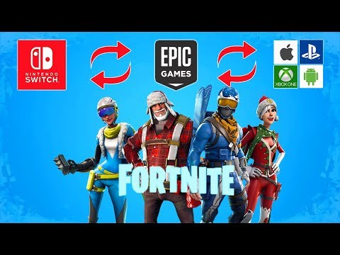 How To Connect Nintendo Switch To ANY Fortnite Epic Account (Xbox, IPhone, PS4, Android)