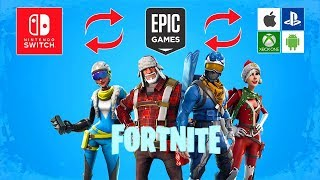 Comment connecter Nintendo Switch à n'importe quel compte Fortnite Epic (Xbox, iPhone, PS4, Android)