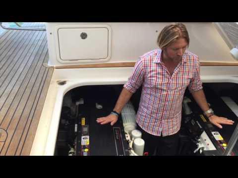 Riviera 4400 Sport Yacht Engine Room & Acess By: Ian Van Tuyl