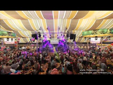 7Promille Coverband - Cannstatter Wasen 2015