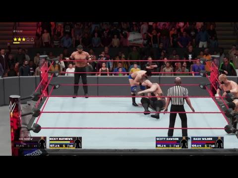 WWE 2K18 Career Mode Ep. 18 Big Show's team effort