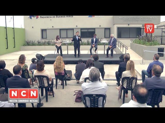 CINCO TV - Andreotti y Massa inauguraron la Fiscalía y Comisaría de la Mujer y la Familia