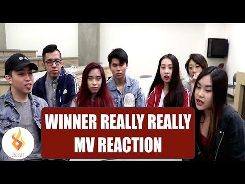 WINNER Really Really MV Reaction [SeouLit]