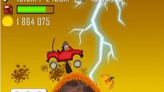 Haunted - Lightning Blew my Jeep Away!!!  (Hill Climb Racing)
