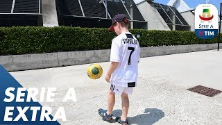 Meeting Your Idol Cristiano Ronaldo! | Extra | Serie A