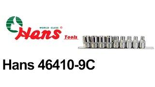Hans 46410-9C — набор торцевых головок — обзор 130.com.ua