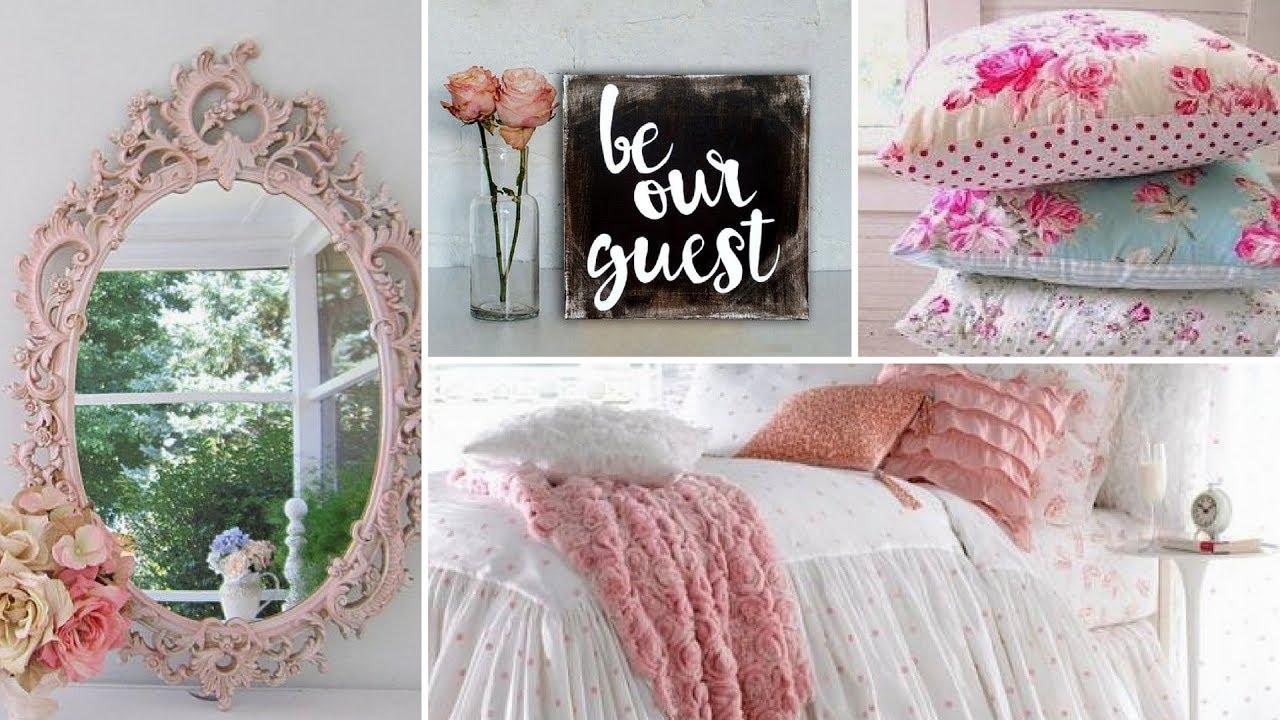 Shabby chic decorating for 2017 - Diy Shabby Chic Guest Bedroom Decor Ideas 2017 Home Decor Interior Design Flamingo Mango
