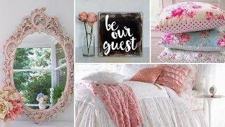 ❤ DIY Shabby chic Guest Bedroom decor Ideas 2017 ❤| Home decor & Interior design | Flamingo mango|