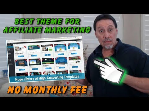 Best WordPress Theme 💰 With Built In Affiliate Marketing Software