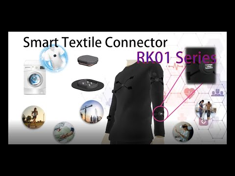 RK01 Series (Smart Textile Connector)