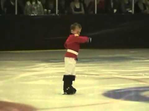 4 Year old Twins perform to The Nutcracker on Ice 1