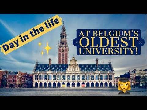 DAY IN THE LIFE OF A UNIVERSITY STUDENT // KU LEUVEN// ベルギーの大学生Youtuberの1日に密着 (字幕)
