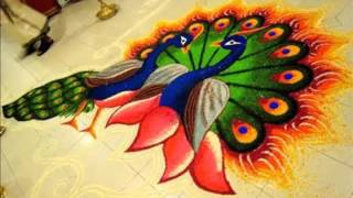 Very Easy Rangoli Indian Culture| Indoor Floor Decor Arts In Asia Picture Ideas