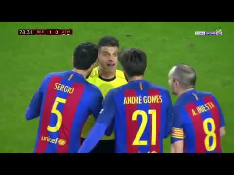 Barcelona vs Atletico Madrid Match Highlights 2017