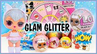 LOL Surprise nuevas Glam GLITTER ULTRARRARA 💓verdaderas vs fake, sirenas, Lil sister, pets serie 4