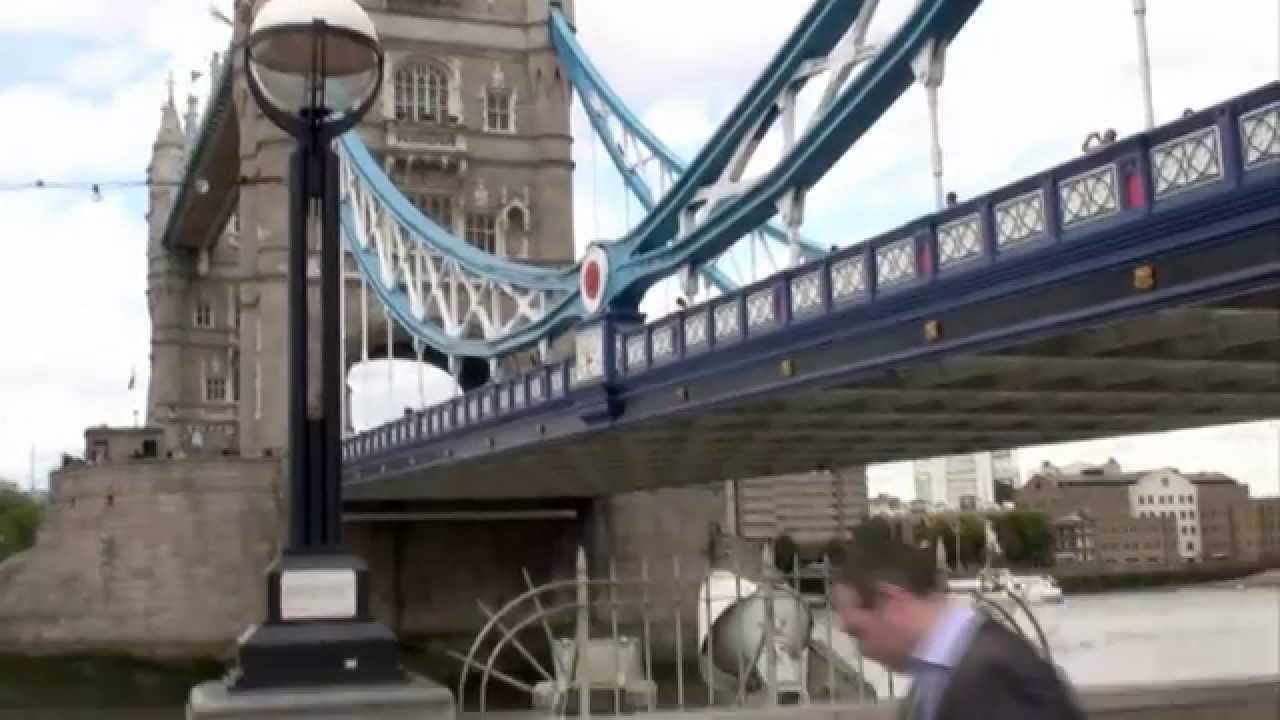 Tower Bridge London Famous Thames River Attractions England History UK By BK Bazhe