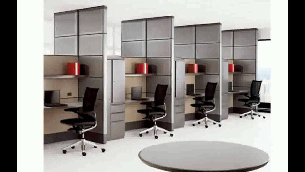 Small office decorating ideas youtube for Office design for small office
