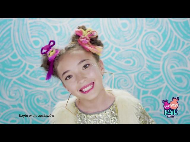 Pop Pop Hair Surprise! #PopPopHair #MGA #zabawki w zabawkitotu.pl