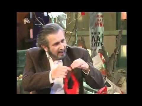 Al Tsantiri News -  9 / 11 / 2010  - Lakis Lazopoulos - Eleni Gerasimidou Full