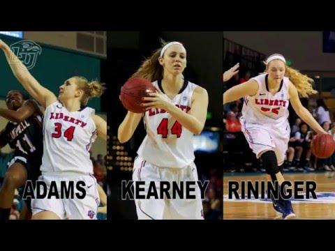 "Liberty women's basketball team's ""Big 3"""