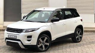 New Maruti  Brezza Modified To Range Rover Evoque in india || CAR CARE TIPS ||