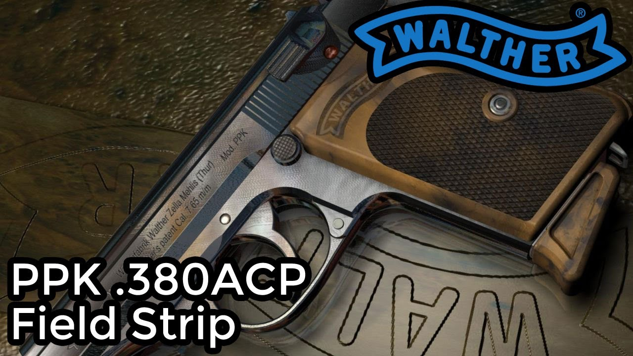 How to Field Strip a Walther PPK - YouTube
