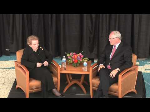 Madeleine Albright at Cable Center