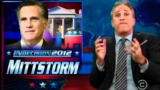Jon Stewart Comments on Mitt Romney's FOX News Interview