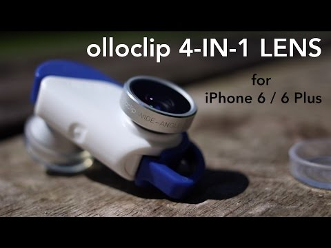 olloclip 4-IN-1 Lens for iPhone 6/6 Plus ( HANDS ON )