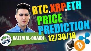 Price Predictions: Bitcoin ($BTC), Ethereum ($ETH), & Ripple ($XRP)!
