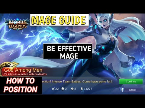 MAGE GUIDE | HOW TO POSITION USING MAGE HERO | MOBILE LEGENDS