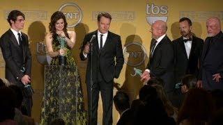"(Entire Speech) ""Breaking Bad"" cast wins at SAG"