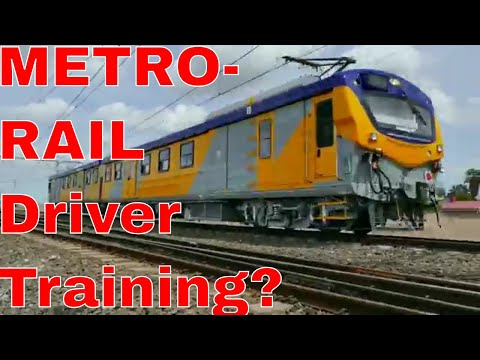 METRORAIL CAPE TOWN: 2017 01 20 10h36 10M5 Likely Driver Training spotted at Bellville