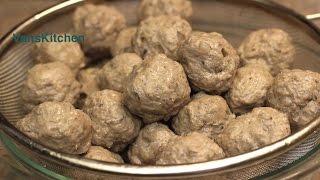 how to make bo vien vietnamese meatballs