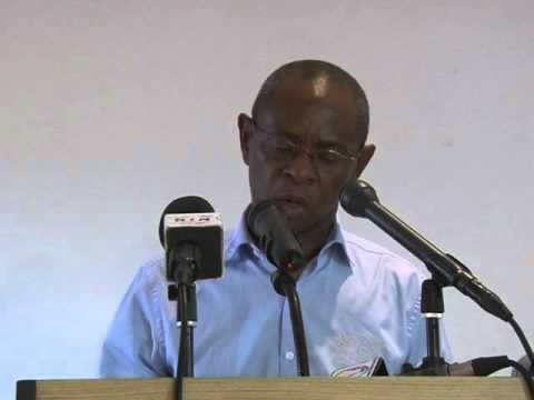 discours de Léon Paul NGOULAKIA