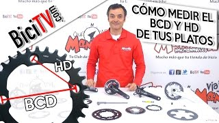Cómo cambiar los platos de una bicicleta. El BCD