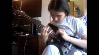 Obscura guitar solo cover - Euclidean Elements