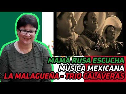 RUSSIANS REACT TO MEXICAN MUSIC | La Malagueña - Trio Calaveras | REACTION