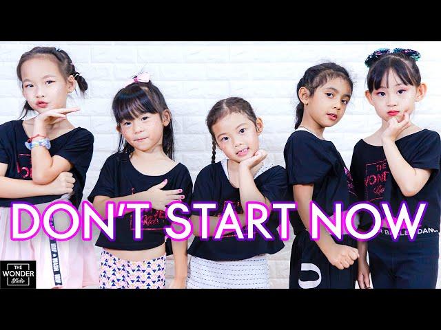 Dua Lipa - Don't Start Now   Dance Video by TheWonderStudio