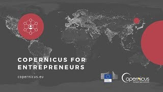 Copernicus for Entrepreneurs and Developers: Getting Access to Copernicus Data, Tools and Financing