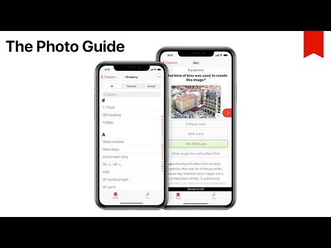 Photography Quiz & Glossary - The Photo Guide iOS App