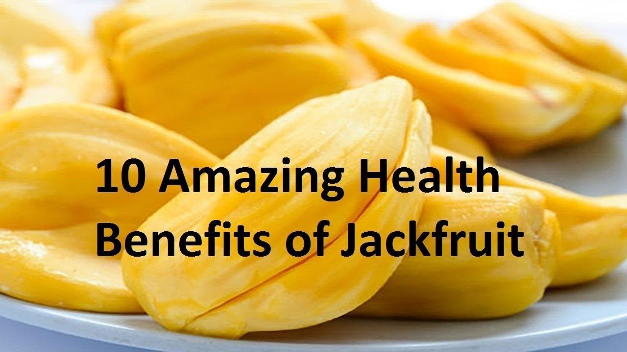 10 Health Benefits Of Jack Fruit Nangka Fruit Jackfruit Calories Youtube