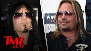 Motley Crue's Vince Neil and Nikki Sixx Threaten Lawsuit Over Documentary | TMZ TV