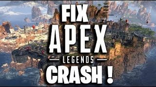 *NEW* FIX APEX LEGENDS CRASH !