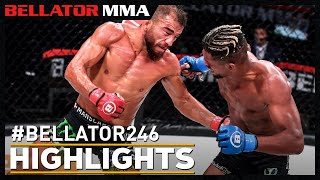 Highlights | Bellator 246: Archuleta vs. Mix | Bellator MMA